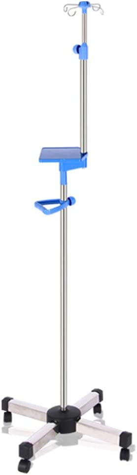 N A Arlington Mall Portable IV Stand Choice Stainless Steel Adjust Height Drip