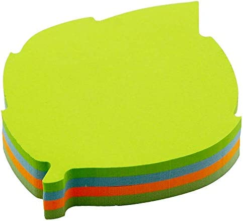 Cute Modeling Sticky Notes 4 Colors Self Stick Notes Writable Tape Flags 140 Sheets Memo Label product image