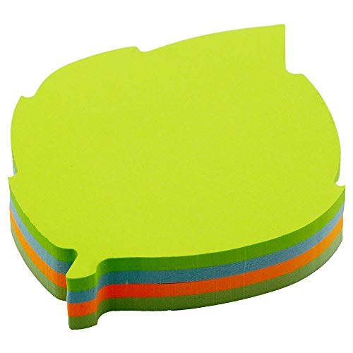 Cute Modeling Sticky Notes-4 Colors Self-Stick Notes-Writable Tape Flags-140 Sheets Memo Label Paper Leaves