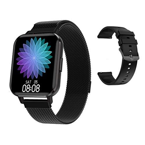 RIGHT TECHNOLOGY APOLLY 4 Smartwatch für Damen/Herren,1.57 HD Zoll Touch-Farbdisplay. Fitness Armbanduhr mit Pulsuhr Fitness Tracker Wasserdicht Sportuhr mit Schrittzähler, Schlafmonitor, IOS/Android