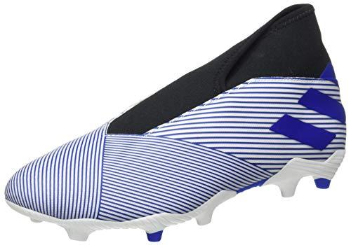 adidas Nemeziz 19.3 LL FG, Zapatillas Deportivas Fútbol Hombre, Azul (FTWR White/Team Royal Blue/Core Black), 46 2/3 EU