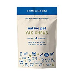 Native Pet Yak Chews for Pit Bulls
