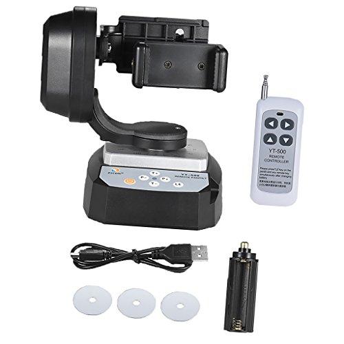 MagiDeal Control Remoto Motorizado Inclinación de Cabeza Estabilizador Giratorio para Teléfono con Cámara Herramientas