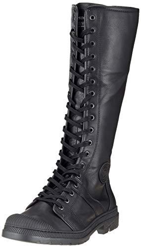 Pataugas Damen Alto F4D Combat Boots, Schwarz (Noir 850), 40 EU