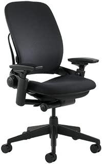 Steelcase Leap Fabric Chair, Black,46216179FBL (Renewed)