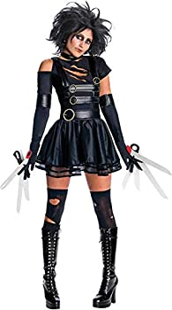 Secret Wishes Womens Edward Scissorhands Miss Scissorhands Costume Black Large