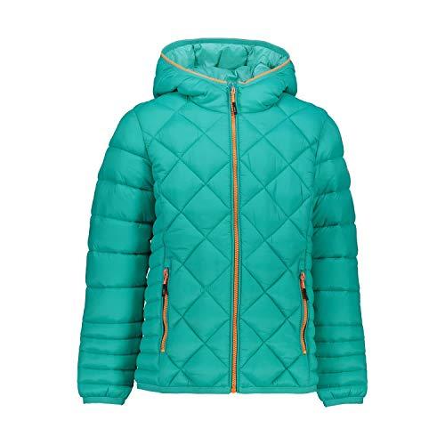 CMP Mädchen Daunenjacke Girl Jacket Fix Hood 30Z1825 Emerald 140