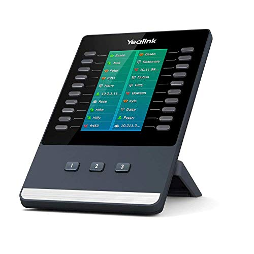 Yealink EXP50 Telefono VoIP, Nero