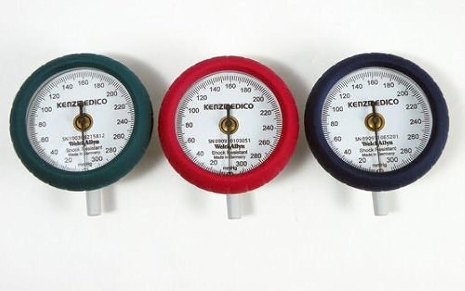 エッセンスヶ月目流す耐衝撃性血圧計用メーター No.555用メーター (レッド)