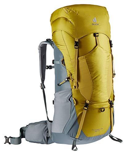 Deuter Aircontact Lite 65+10, Zaino da Trekking. Unisex-Adulti, Teal Turmeric, 75 L