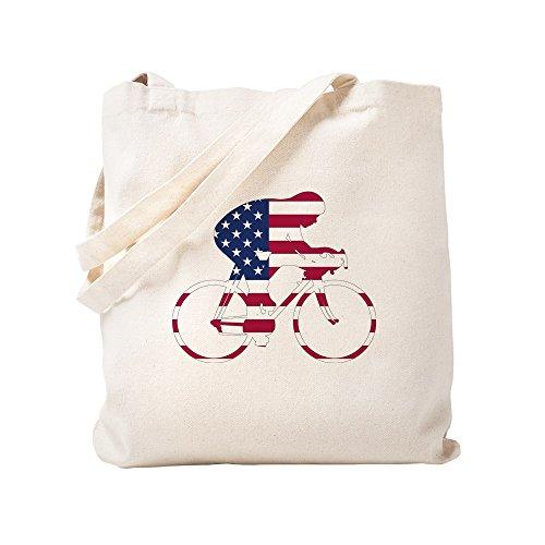 CafePress U.S.A. Fahrradtasche, canvas, khaki, S