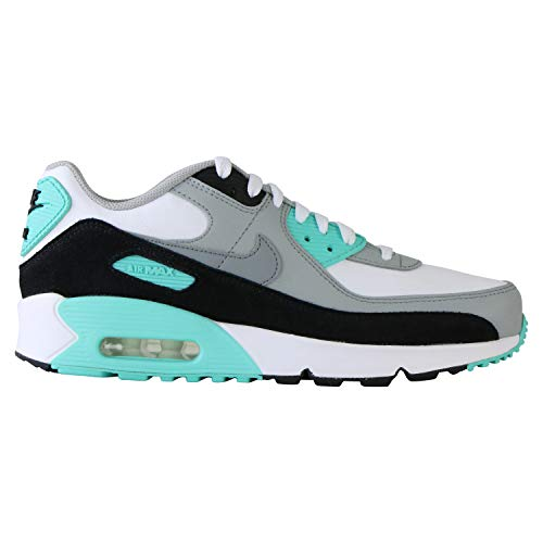Nike Unisex-Kinder Air Max 90 Ltr Laufschuh, White Particle Grey Light Smoke Grey Hyper, 40 EU