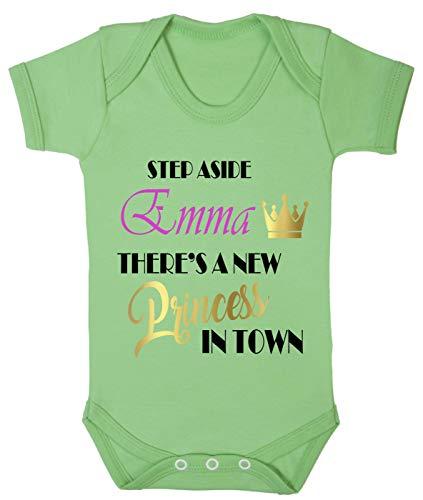Grenouillère personnalisable princesse 0-24 pour fille - Vert - S