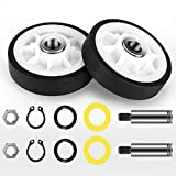 303373K Dryer Drum Support Roller, 2 PACK (Upgrade) Roller Wheel Drum Support Kit for Maytag & Admiral Dryers -Replaces Part Numbers(303373, 12001541, ER303373K, AP4008534 etc) by Valchoose