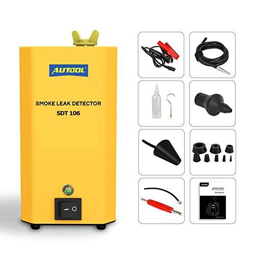 Auto Rauchmaschine SDT-106 Auto Lecksuche Kfz Diagnoseleck SDT106 Stützrohrsysteme/Motorrad/Autos/SUVs/LKW Rauchlecktester
