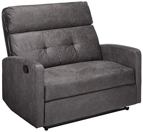 Christopher Knight Home Hana Recliner, Microfiber/Slate