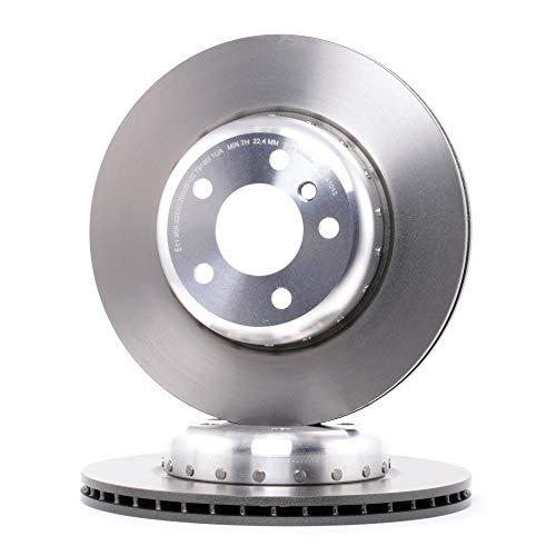 Preisvergleich Produktbild BREMBO 09.C410.13 Bremsscheibe Scheibenbremsen,  Bremsscheiben (x2)