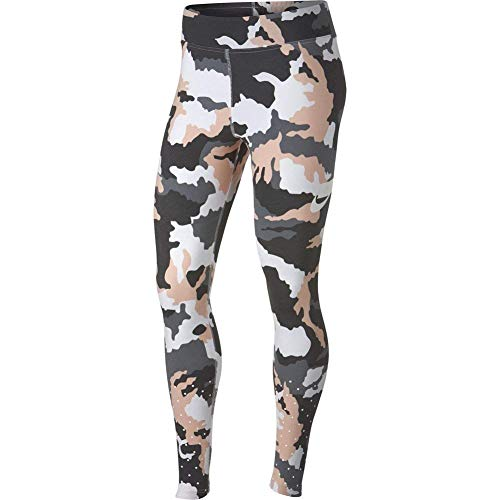 Nike Damen Camo Tights, White, M