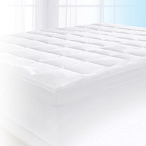 "Serta 4"" Pillow-Top and Memory Foam Mattress Topper, King"