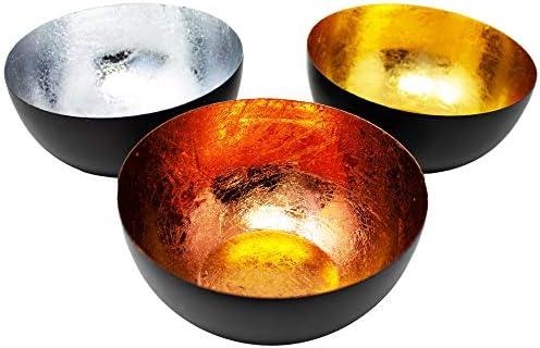Teelichthalter Schale für Teelicht Gebrannt Sakrale Kupfer