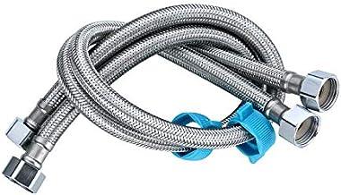 Homovater Paar Mixer Tap Connector M10 1/2 BSP Flexibele Slang Pijp Tap Staarten voor Mono Block Wastafel/Keuken Kranen/To...