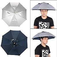 """26 """"Angelschirmhut ♥ Dieser lustige Regenschirmhut benötigt nur sehr wenig Platz für tragbare Reisen. Das praktische Design mit stilvollem und funktionalem Zubehör hält Sie trocken und hält Ihre Hände frei. Gute Wahl für draußen Reflect Heat Cloth ♥ ..."""