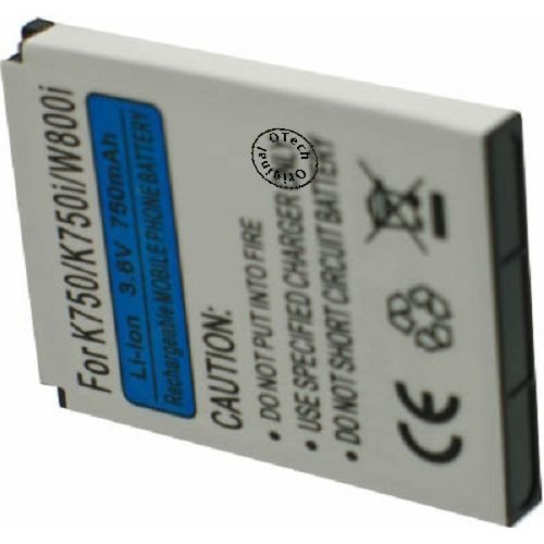 Otech GSM-accu's voor SON BST-37 / K750, 3,7 V, 900 mAh