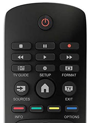 DigitalTech® - Télécommande universelle pour téléviseurs Philips Compatible avec plus de 250 télécommandes Philips.
