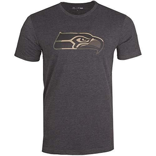 New Era Camo Shirt - NFL Seattle Seahawks Charcoal - XL