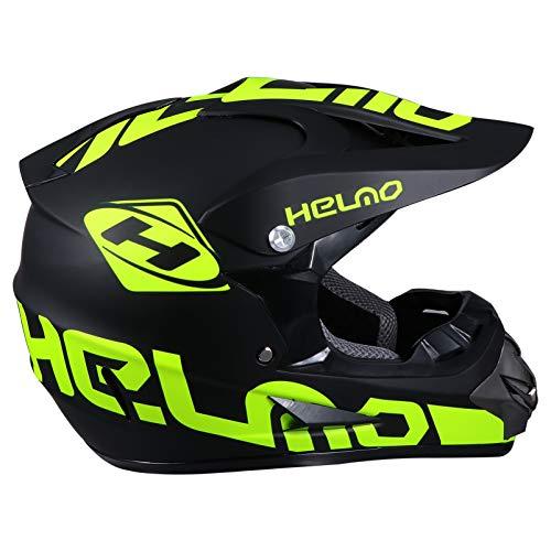 BESPORTBLE Motorradhelm Fahrradhelm MTB Mountainbike Helm Tragbar Radhelm für Erwachsene Herren Frauen Damen Rennrad Skateboard Fahrrad Zubehör Gelb 53-58cm