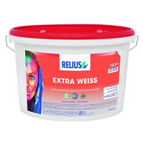 Waschbare Farbe Extra Weiß 12,5 l