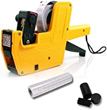 KEYIDE MX-5500 8 Digits Price tag Gun with 5500 White Labels and 3 Ink (Yellow)