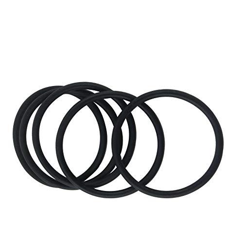 XBaofu 10pcs 5mm Dicke NBR-O-Ring-Dichtungen 165/170 / 175/180/185/190/195/200/205/210 / 215mm OD Ölbeständigkeit Nitirle Gummi-O-Ring-Dichtungen (Größe : 170x160x5mm)