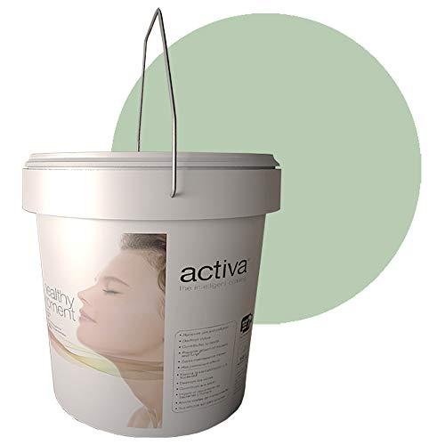 PHOTODECO VERDE. Pintura Fotocatalítica. Lavable para interior. Antivirus y Antibacterias, Descontaminante, Antiolores, Autolimpiable. 4L