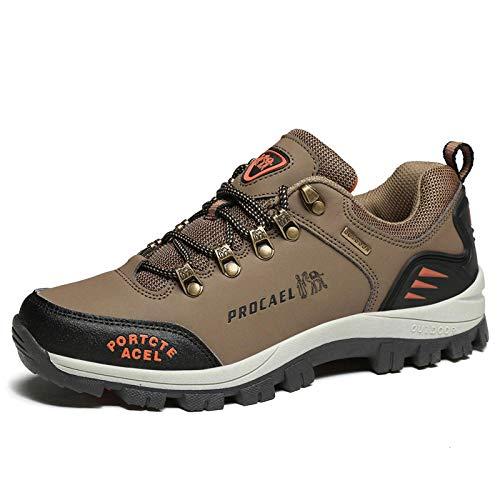Aerlan Gym Shoes Lightweight Shoes,Botas de montaña Deportivas,Zapatillas de Deporte de montañismo Antideslizantes Ocasionales al Aire Libre Masculinas-C Card_42#