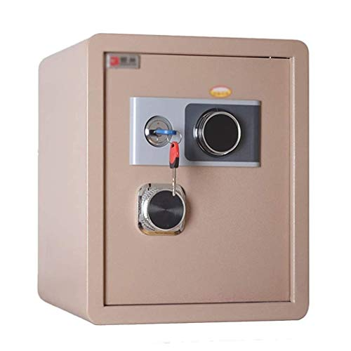 ZBM - ZBM Safe, huishoudelijk, small office safe 45 cm anti-diefstal volledig stalen 45 mechanische wachtwoord-safe nacht onzichtbare muur vuurbestendig digitaal safe dual intelligent alarmsysteem koffer slot goud