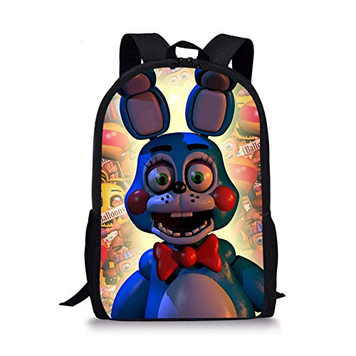 Cool Teddy Bear's Five Nights at Freddy's Bunny Bear Student Backpack Children's School Bag Customized Backpack for School Season-2