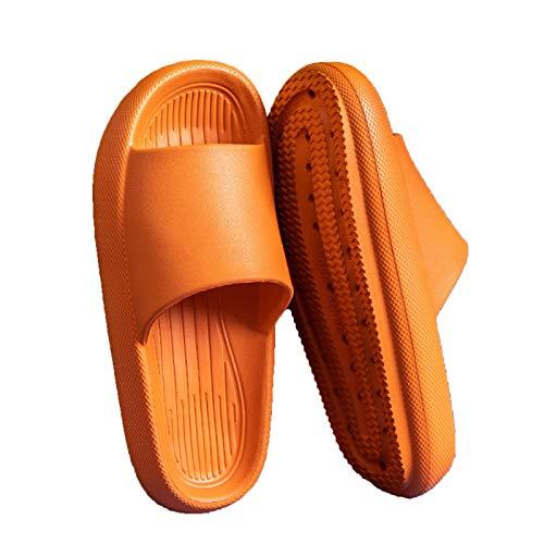Toboganes de almohada, Sobaderas de almohada, sensación de pisando mierda, zapatillas de resolución gruesa, zapatillas para el hogar de verano, sandalias antideslizantes para bañarse en el baño