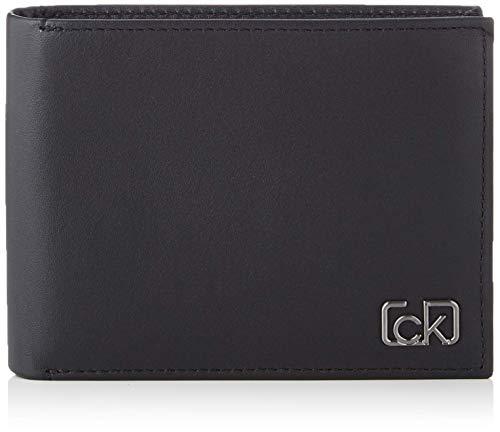 Calvin Klein Herren Ck Cast 5cc W/Coin Geldbörse, Schwarz (Black), 0.1x0.1x0.1 centimeters