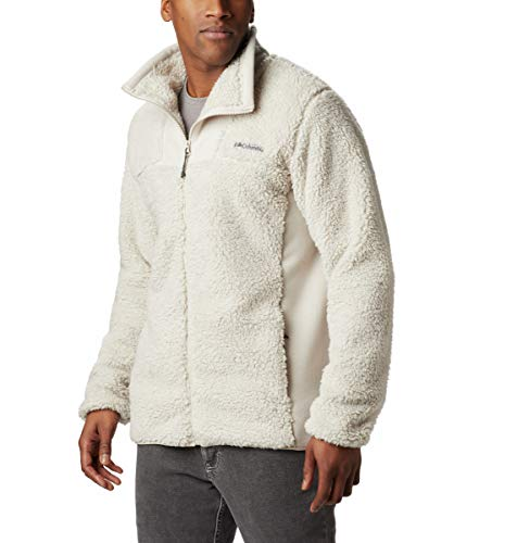 Columbia Men's Winter Pass Fleece Full Zip Jacket, Winter Fleece, Large, Dark Stone