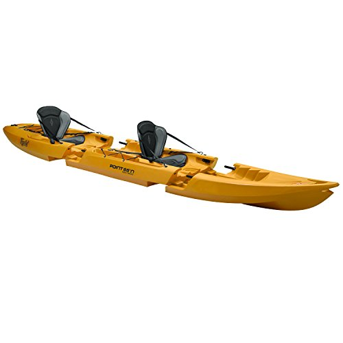Desconocido Point 65 Tequila. GTX Tandem Modular Sit On Top Kayak, Amarillo, Talla única
