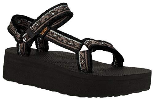 Teva Women's Flatform Universal Maressal Sandals (Maressa Black Multi,7B)