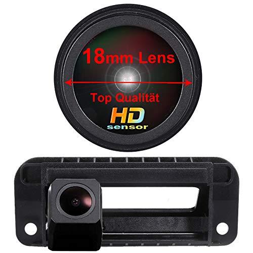 Bagagliaio Maniglia fotografica di sostegno di retrovisione Videocamera HD Auto Telecamera Posteriore Visualizzazione per Mercedes Benz W204 S204 Classe C W212 C180 C200 C260 C300 C280 C300