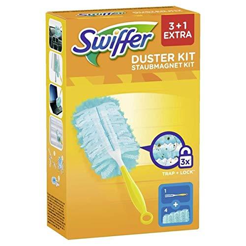 Swiffer Staubmagnet Starter-Set, Griff mit 3 Staubtüchern