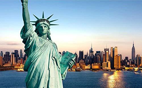 Puzzel Voor Volwassenen 300 Stukjes, Vrijheidsbeeld, New York Nacht Uitzicht, 1500/1000/500/300 Stukjes, Brain Challenge Games
