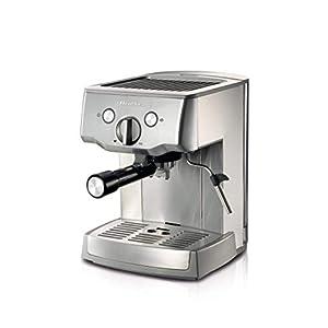 Ariete 1324 Macchina per caffè espresso in metallo, polvere e cialda ESE, Pompa 15 Bar, Cappuccinatore montalatte, Vano…