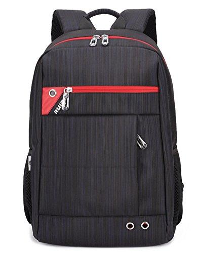 beibao shop Backpack Sacs à Dos pour Ordinateur Portable Affaires Loisirs Polyester Imperméable Résistant à l'usure Extérieur Épaule Multi-Fonctionnel Sac à Dos d'ordinateur