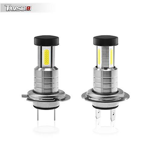 2X H7 55W MAX Xenon Style Lampen Halogen-Scheinwerferlampe, Xenon Style Birnen Brenner, Xenon Look Lampen Weiss,Halogen Xenon Lampen