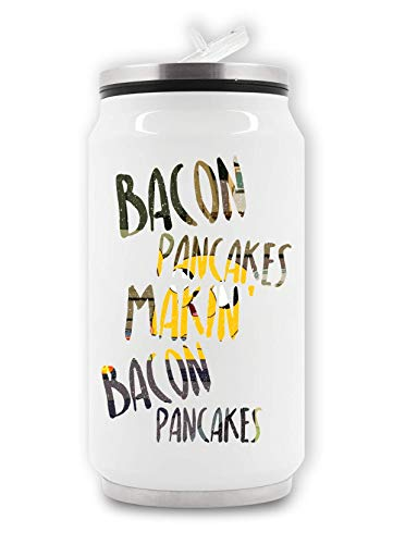 ShutUp Makin Bacon Pancakes Thermische drankblik