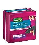 Depend Active Fit 9 Sous-vêtements Femme (6 gouttes) Taille S/M pour Fuites Urinaires et Incontinence - Lot de 4